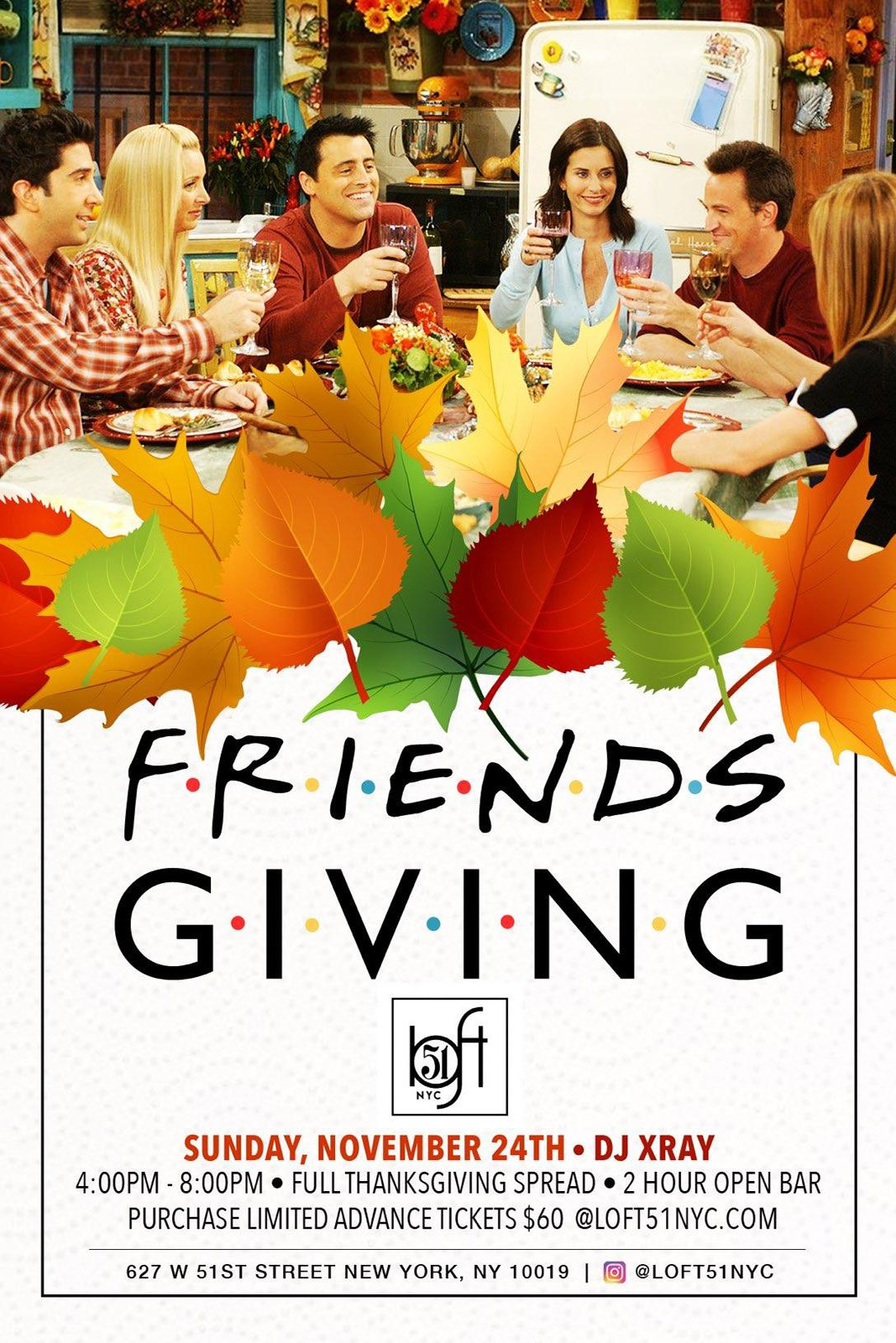 Loft 51's Friendsgiving